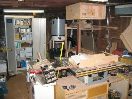 Table saw, jointer, dust collector